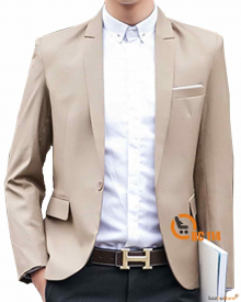 Blazer Pria Formal Stylish BC114 | Coklat